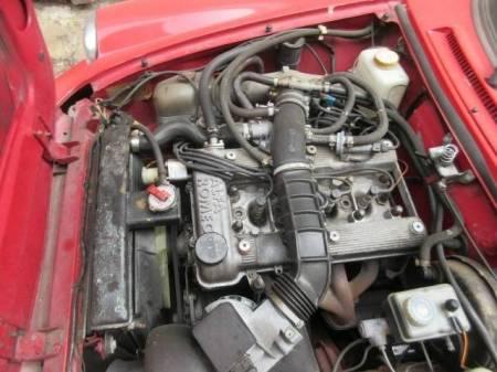 1988 Alfa Romeo Spider Graduate engine