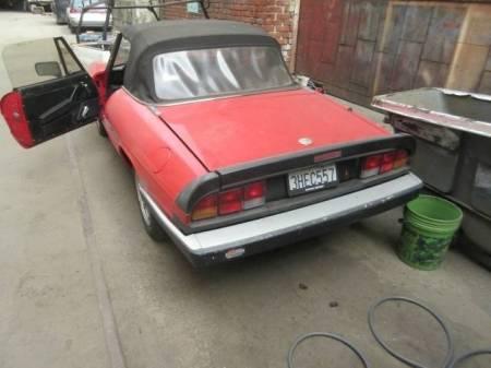 1988 Alfa Romeo Spider Graduate rear