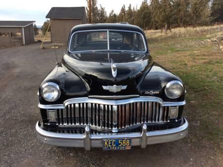 1949 DeSoto Custom front