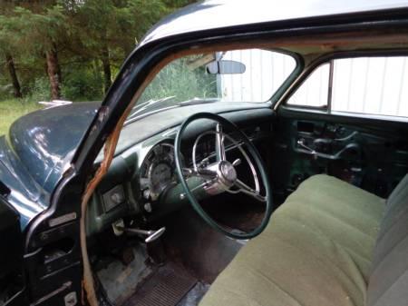 1953 Chrysler Windsor Deluxe interior