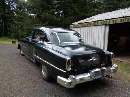 1953 Chrysler Windsor Deluxe left rear