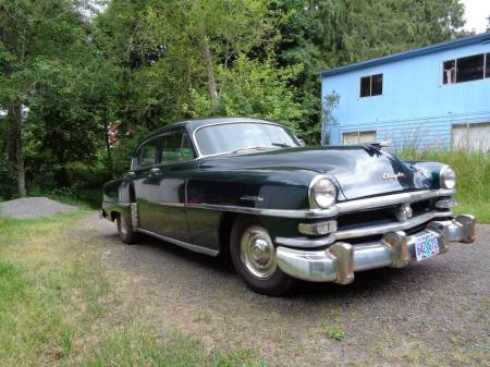 1953 Chrysler Windsor Deluxe right front