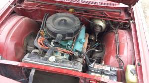 1966 Chrysler 300 engine