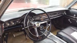 1966 Chrysler 300 interior
