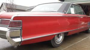 1966 Chrysler 300 right rear