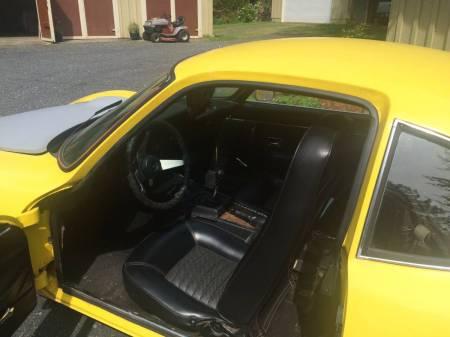 1969 Opel GT 2 interior