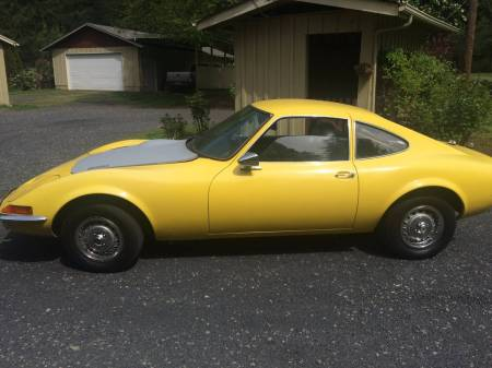 1969 Opel GT 2 left side