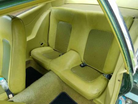 1973 Ford Pinto interior rear
