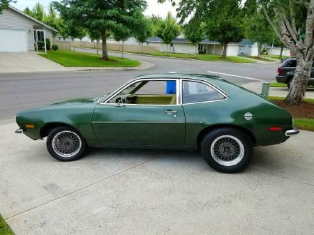 1973 Ford Pinto left rear