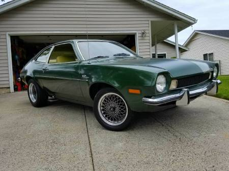 1973 Ford Pinto right front