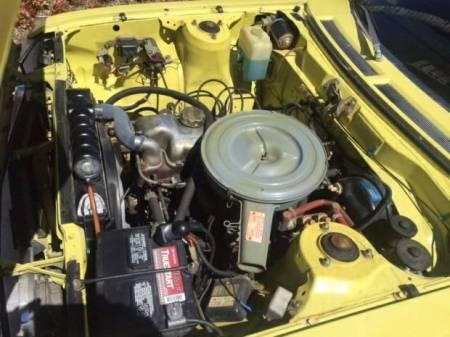 1974 Toyota Celica ST engine
