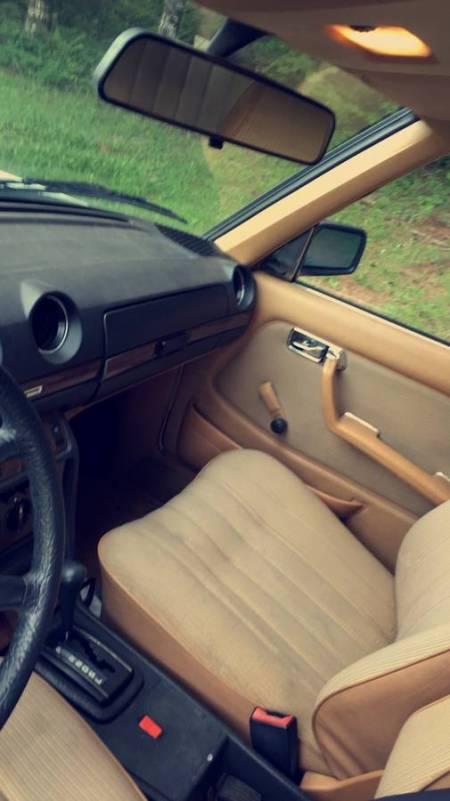 1983 Mercedes 230E interior 1