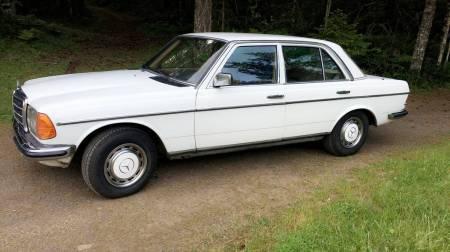 1983 Mercedes 230E left front