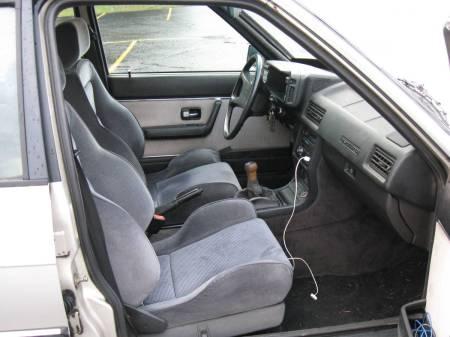 1987 Audi 4000 Quattro interior